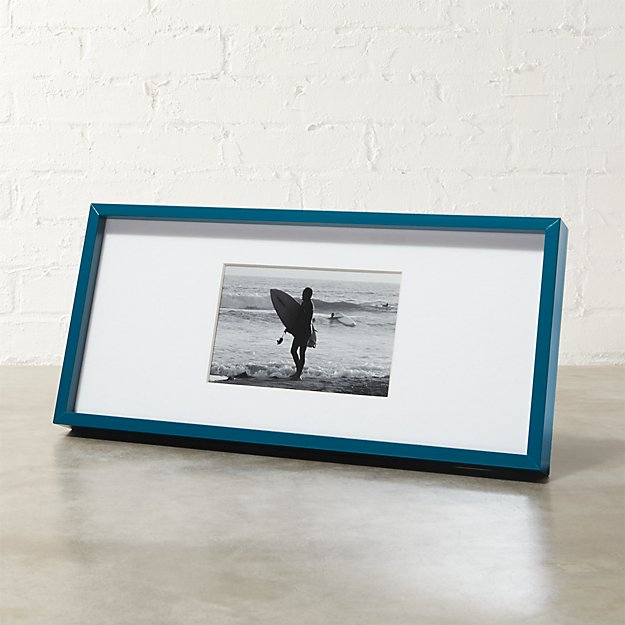 gallery peacock 4x6 picture frame