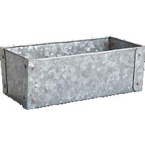 galvanized basket