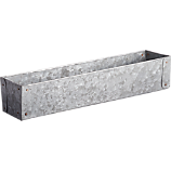 galvanized narrow basket