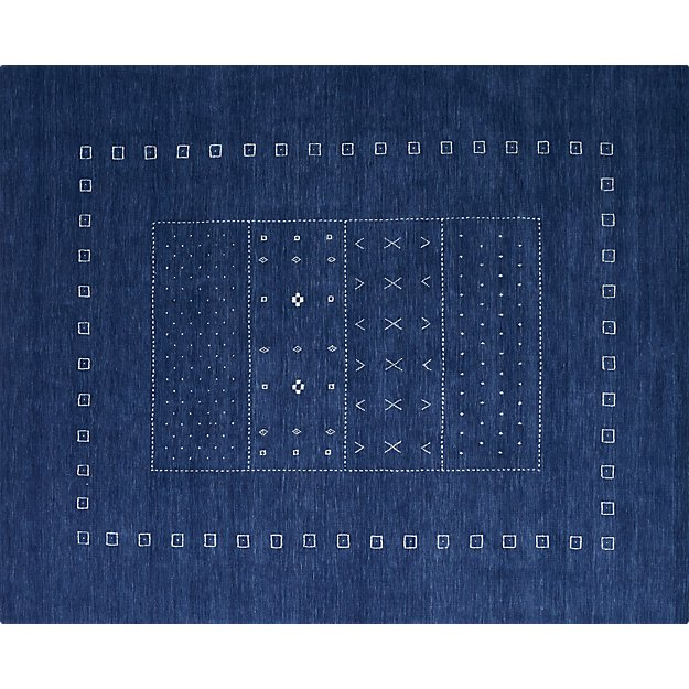 game time hand-loomed rug 8'x10'