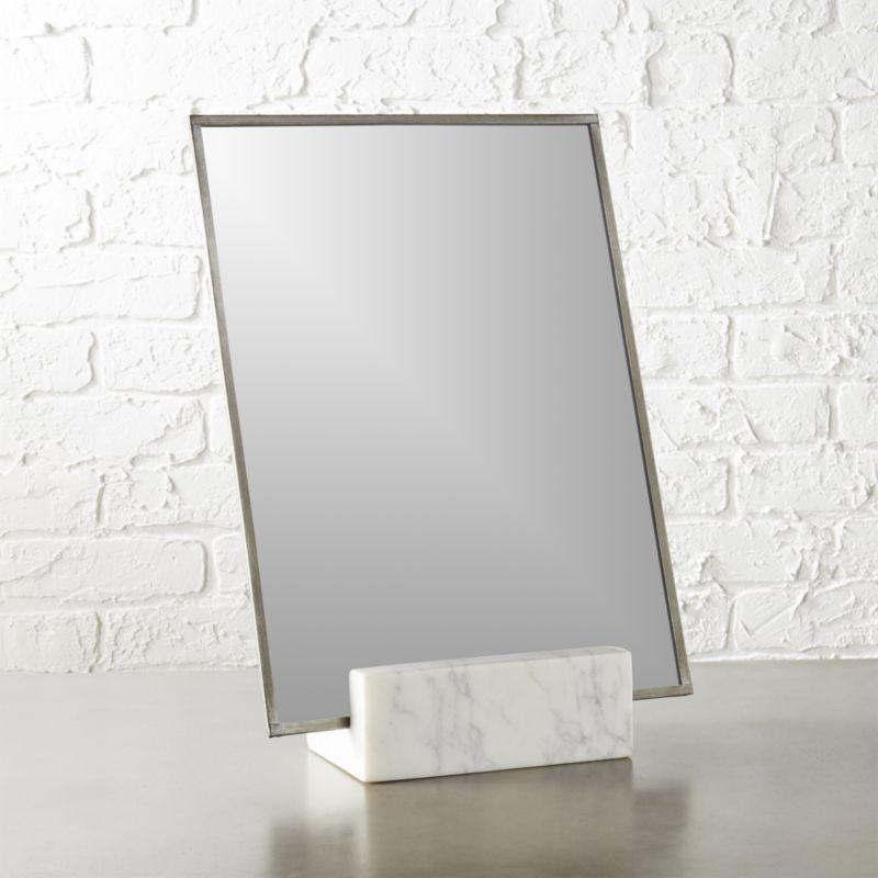 Gaze 10 25 Quot X14 5 Quot Vanity Mirror Cb2