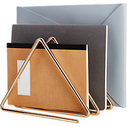 gilded file holder