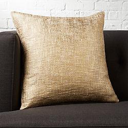 "glitterati gold 18"" pillow"