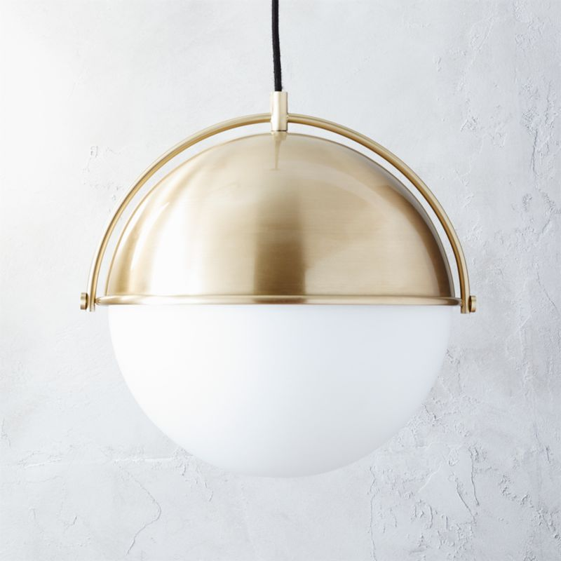 globe pendant light cb2. Black Bedroom Furniture Sets. Home Design Ideas