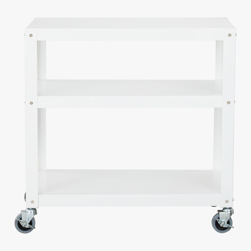 "go-cart white 30""x18&qu"