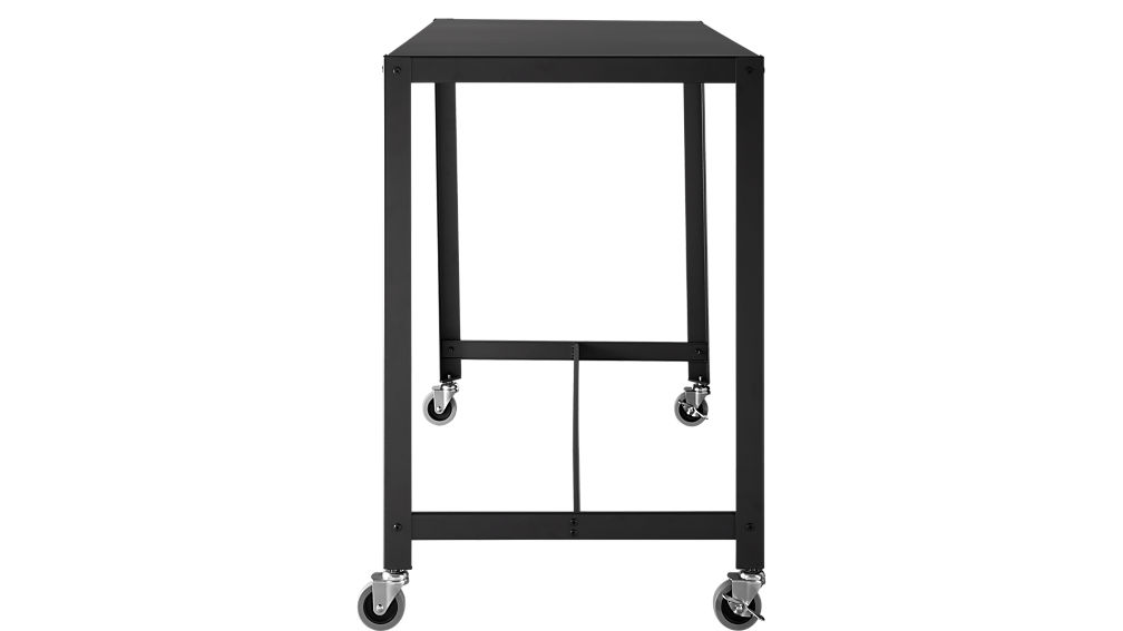 go-cart carbon rolling counter table-stand up desk