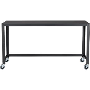go-cart carbon grey console table