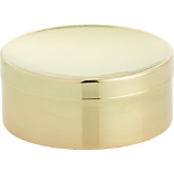 gold catchall with lid