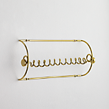 gold paper towel holder