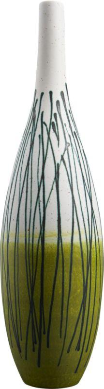 grassy vase