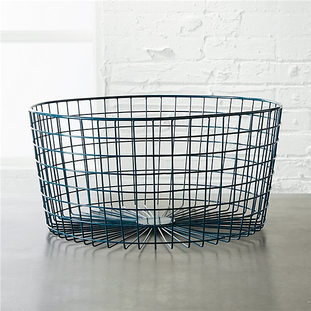 gridlock blue-green basket