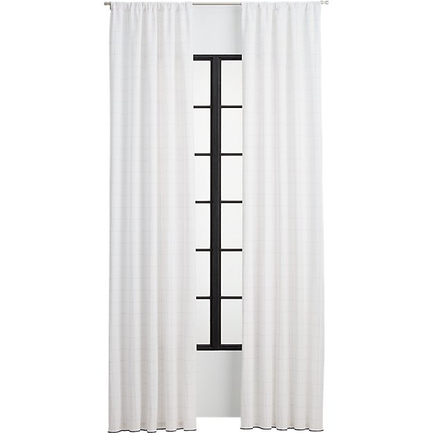 gridlock curtain panel
