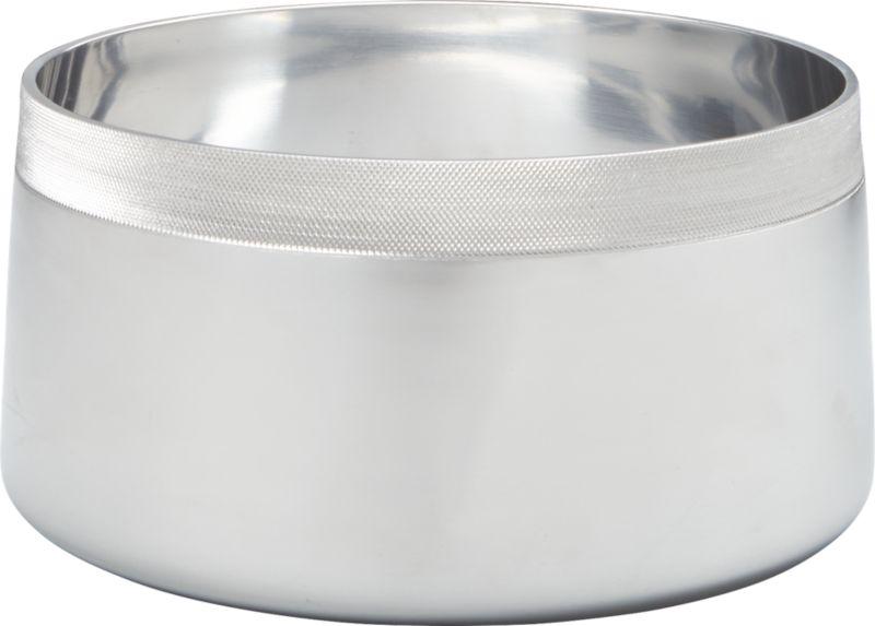 grit aluminum serve bowl