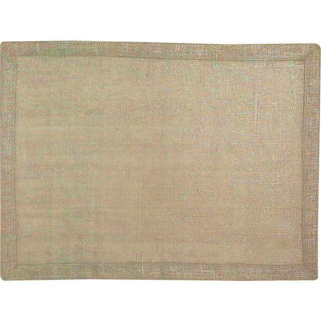 guppy flax placemat