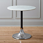 hackney marble cocktail table.