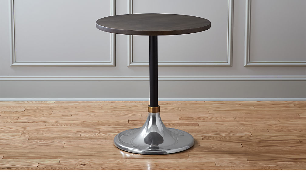 hackney wood cocktail table