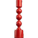 Halo Matte Black Taper Candle Holder Cb2