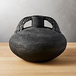hanzo black vase