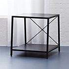 harvey carbon grey nightstand.