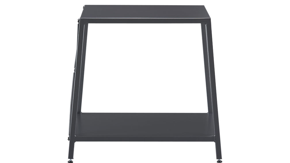 harvey carbon grey nightstand