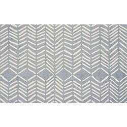 hash looped rug