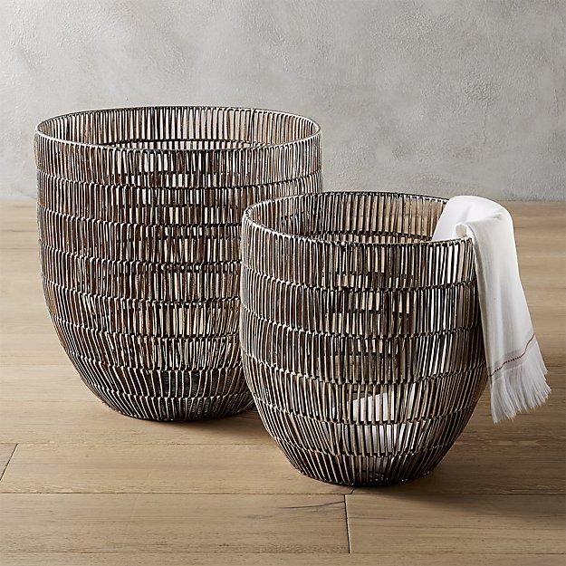 heavy metal baskets