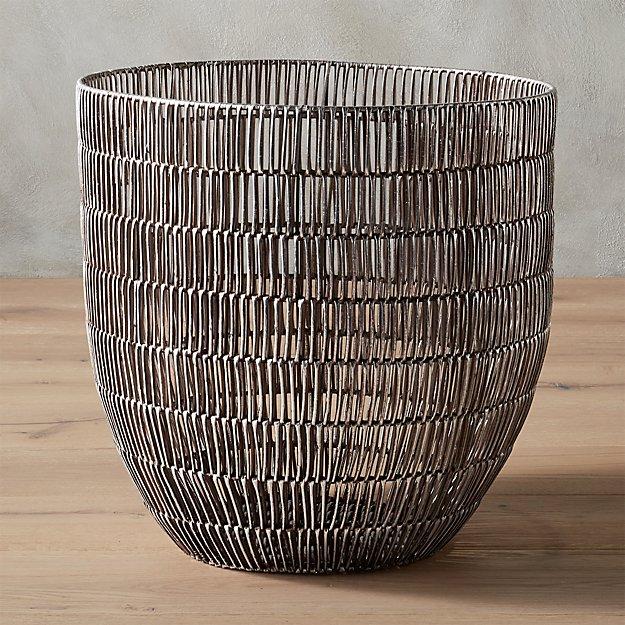 heavy metal large basket