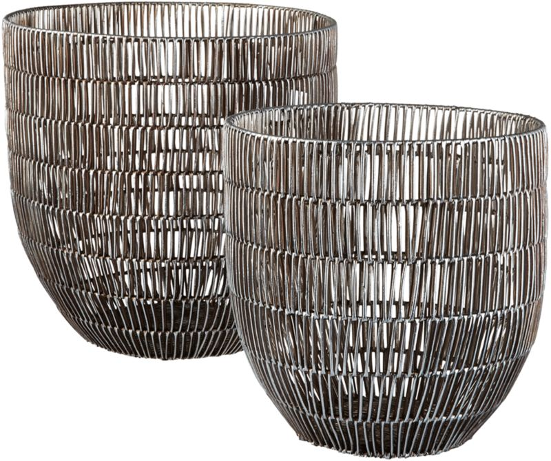 heavy metal baskets