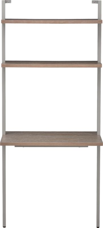 helix taupe desk