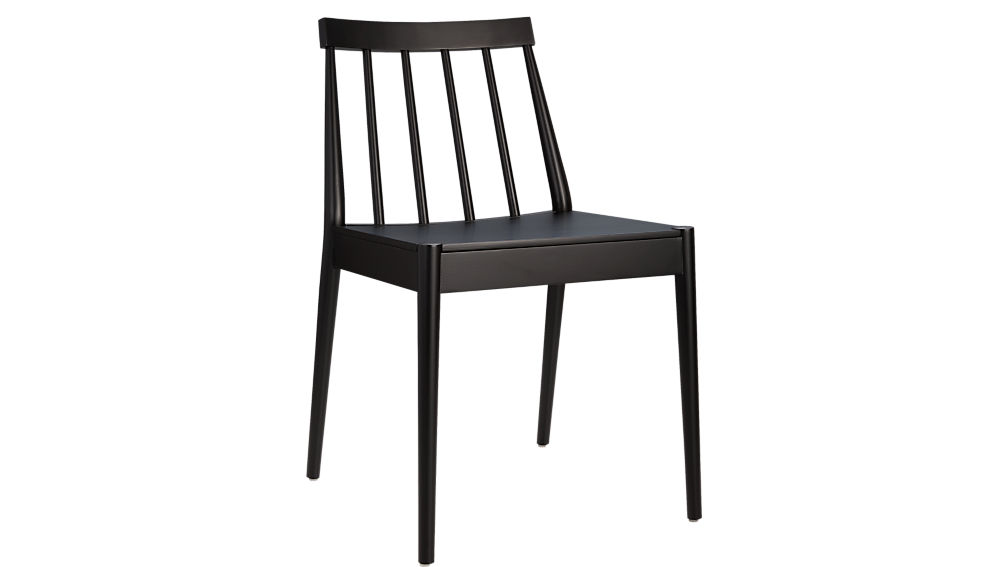 hemstad black chair