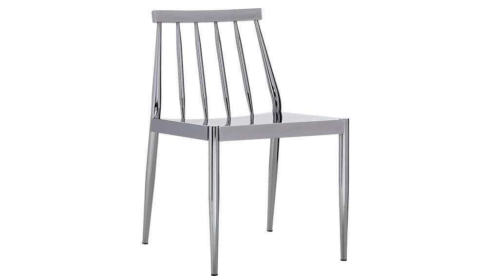 hemstad chrome chair