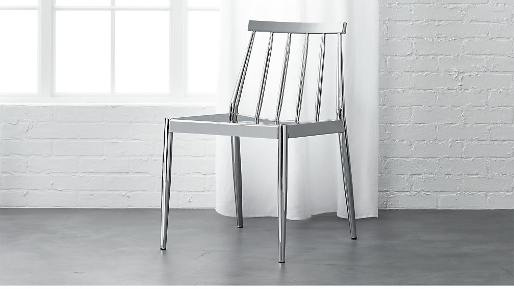 hemstad chrome chair