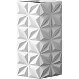 hendricks white vase
