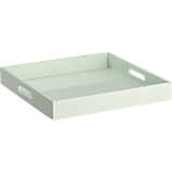 high-gloss square mint tray