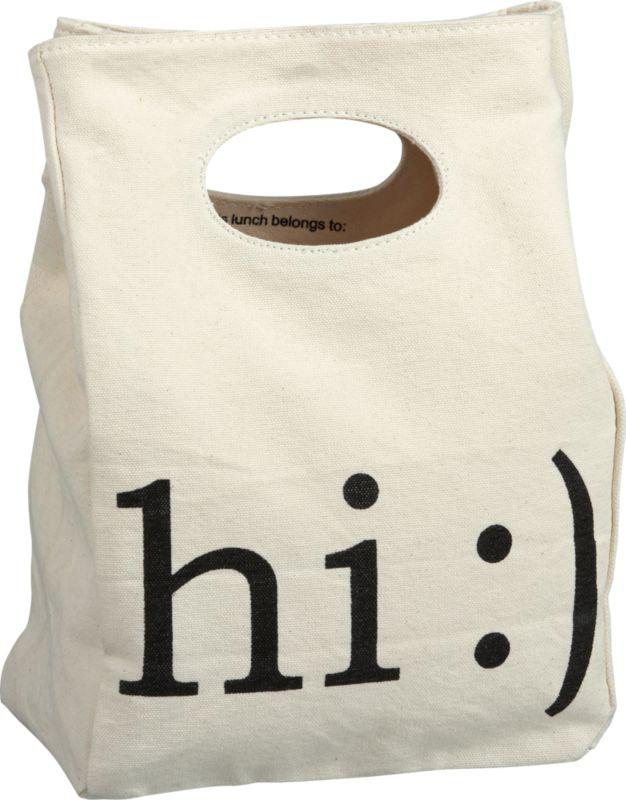 hi lunch bag