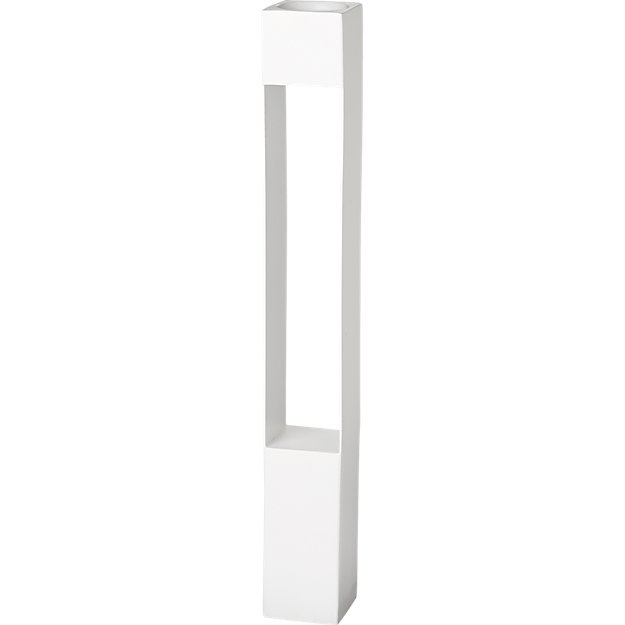 highrise white tea light candle holder