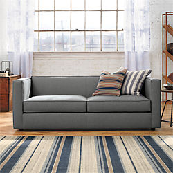 The Hill-Side chambray club sofa
