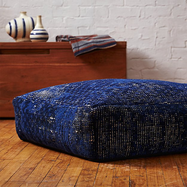 The Hill-Side disintegrated floral print floor cushion