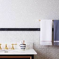 The Hill-Side floral self-adhesive wallpaper
