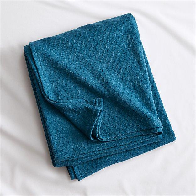 hive blue-green blanket