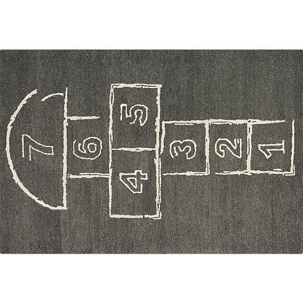 hopscotch rug 4'x6'