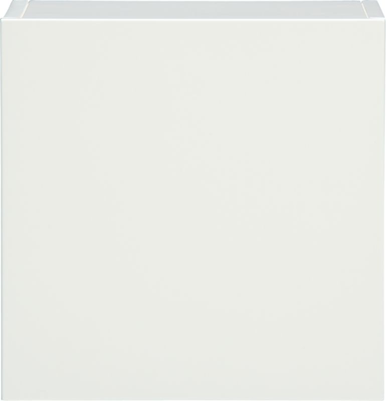 """hyde white 16"""" square wall mounted cabinet"""