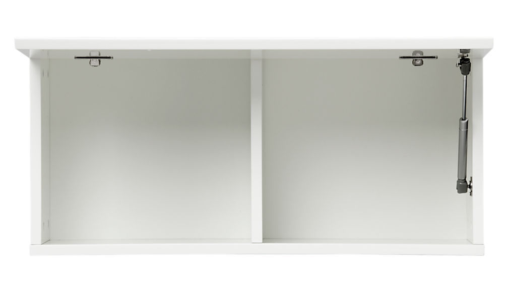 """hyde white 30"""" wall mounted cabinet"""