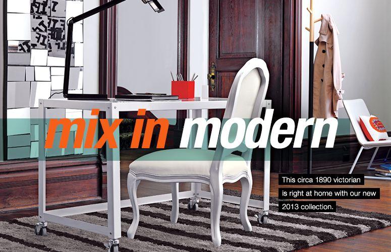 mix in modern