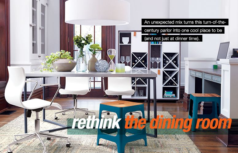rethink the dining room