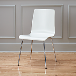 ideal II white chair