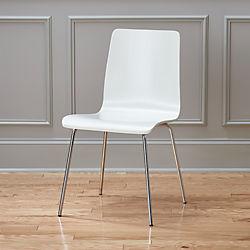 ideal II white chair