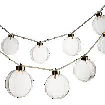 igloo clear globe string lights