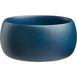 indigo wood individual bowl