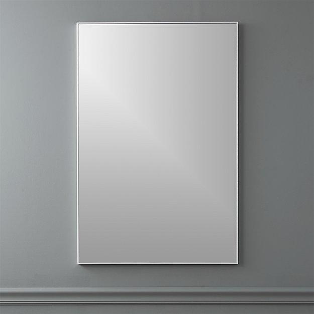 "infinity 24""x36"" rectangular wall mirror"